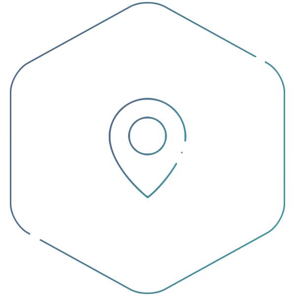 icône localisation du stage
